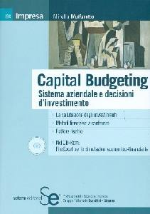 MUFFAROTTO MIRELLA, Capital budgeting